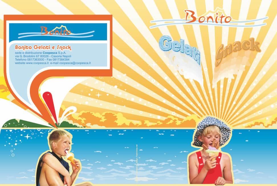 Catalogo Bonito Gelati e Snack Coopesca copertina