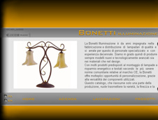 pubblicato il sito web www.bonettiilluminazione.it
