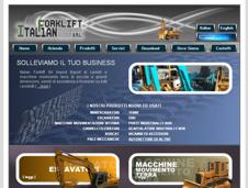 pubblicato il sito web www.italianforklift.it