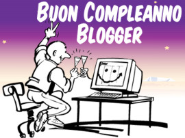 Buon Compleanno Blogger