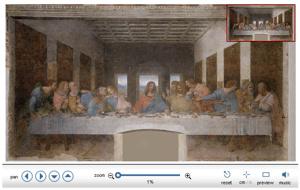 Una lente d'ingrandimento sul cenacolo di Leonardo