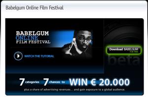 Babelgum Online Film Festival