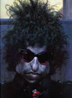 Bob Dylan  caricatura di Sebastian Kruger