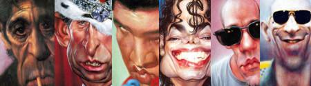 Caricature di attori famosi 2