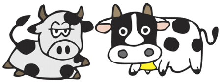 Due mucche secondo la politica