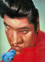 Elvis Presley caricatura di Sebastian Kruger