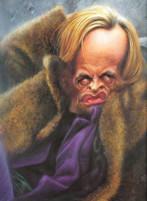 Klaus Kinski caricatura di Sebastian Kruger