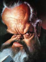 Orson Welles caricatura di Sebastian Kruger
