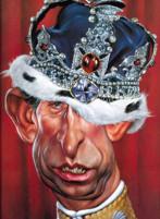 Prince Charles caricatura di Sebastian Kruger