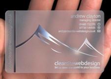 L'evoluzione del business card, pvc e metallo