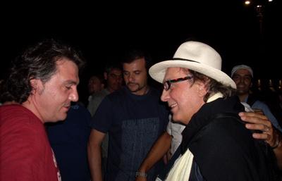 Pino daniele prove Vaimò 2008 piazza plebiscito - Tullio De Piscopo
