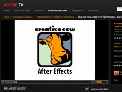 adobe tv e video tutorials della creative cow
