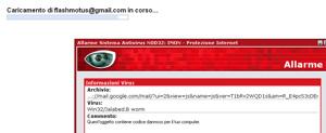 Attacco Virus negli account Gmail