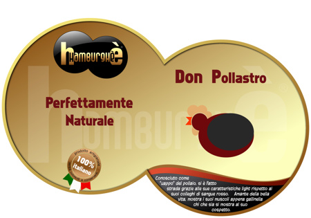 cartello pubblicitario Hamburgh: perfettamente naturale