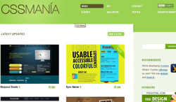 Restyling per CSS Mania