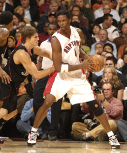 Chris Bosh dei Toronto Raptors è il re del web