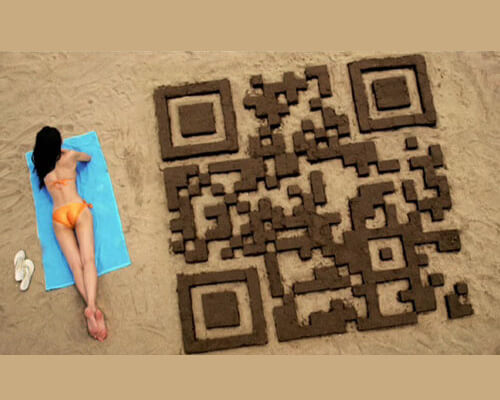 QR Codes beachqrcode 25 Smart And Creative Ways To Implement
