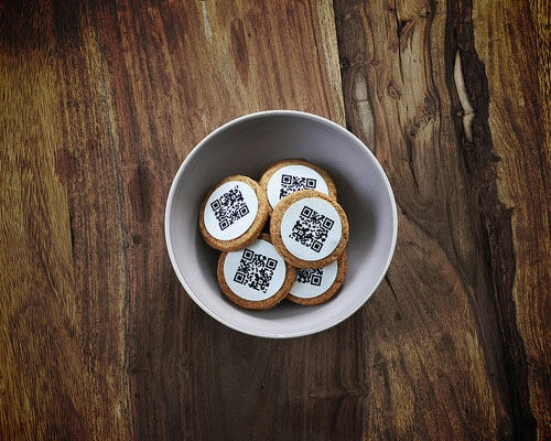qrcookies 25 Smart And Creative Ways To Implement QR Codes