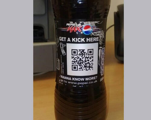 pepsiqr 25 Smart And Creative Ways To Implement QR Codes