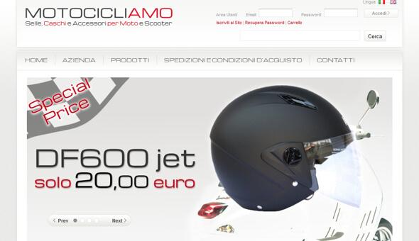 Motocicliamo Eshop – Selle caschi e accessori per moto e scooter